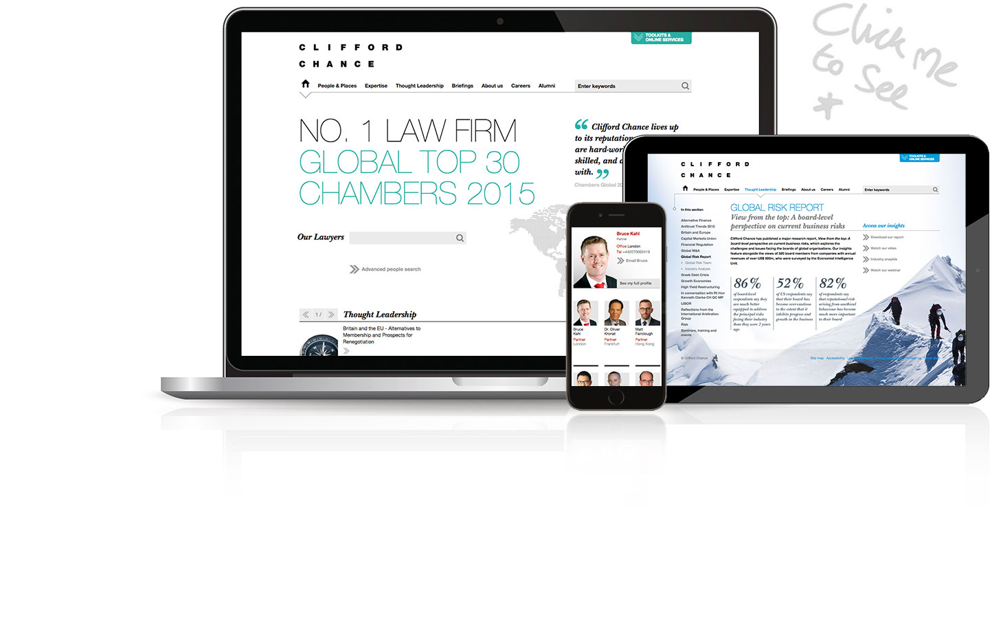 Clifford Chance Website